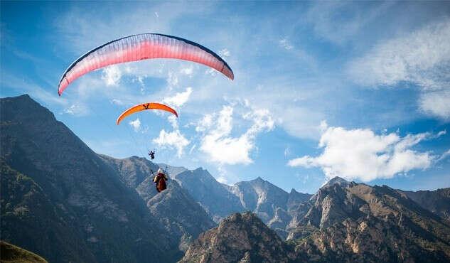 Полетать на параплане в горах
