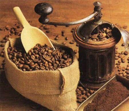 Кофе в зёрнах.