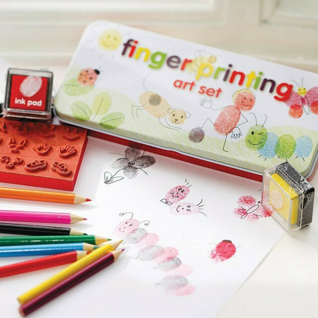 Finger Printing Art Set - $11