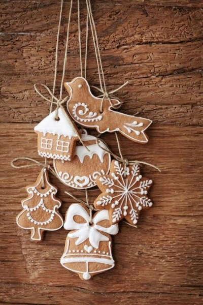 Научиться печь рождественское печенье