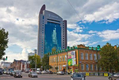 Побывать на крыше Уралсиба