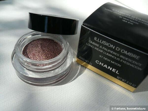 Тени Chanel Illusion d'Ombre Long Wear Luminous Eyeshadow 97 New Moon