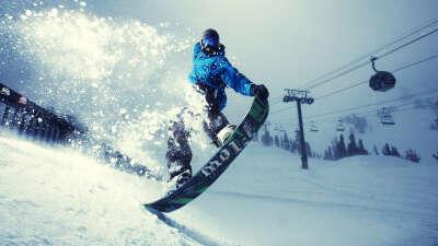 Зимний отпуск: Сноуборд