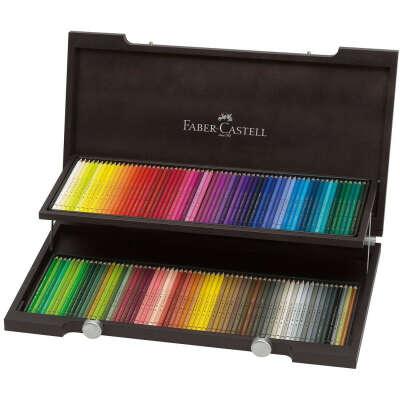 Большой набор цветных карандашей