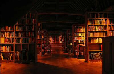 Огромную библиотеку