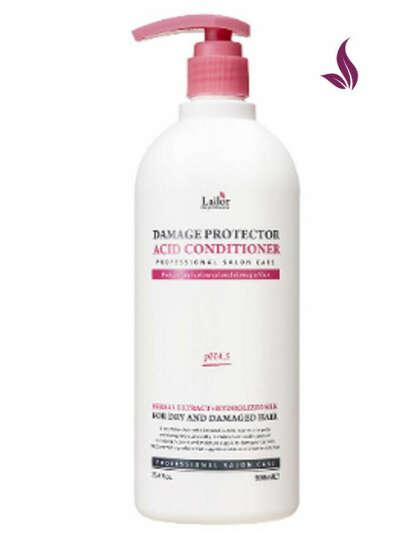 Кондиционер с коллагеном и аргановым маслом Damaged Protector Acid Conditioner, 900 мл, Lador