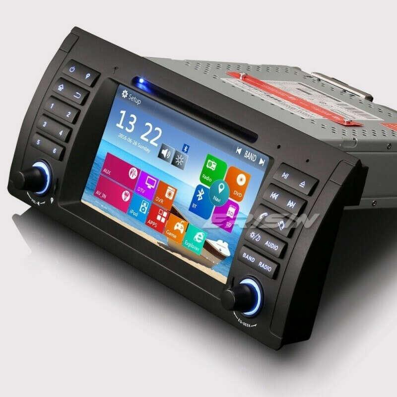 """ERISIN ES7161B 7"""" CAR DVD GPS BLUETOOTH 3G FOR BMW E53 E39"""