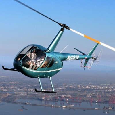 Полёт на вертолете