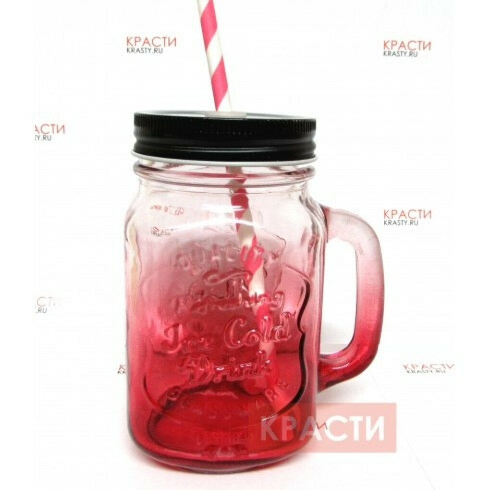 Кружка-банка «Mason Jar»