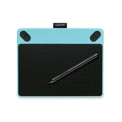 Графический планшет WACOM Intuos Draw Creative Pen Tablet S Blue