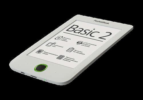 Электронная книга PocketBook 614 (Basic 2) Белый