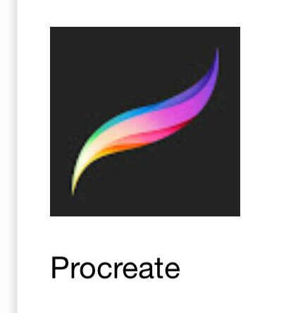 Приложение для рисования Procreate