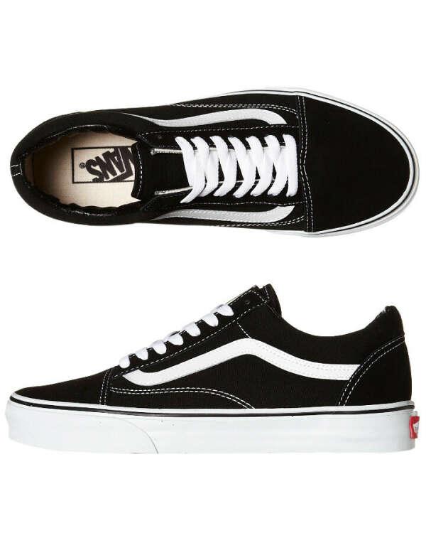 Vans Old Skool черные