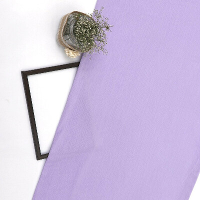 Lavender Imported Wrinkled Georgette Fabric