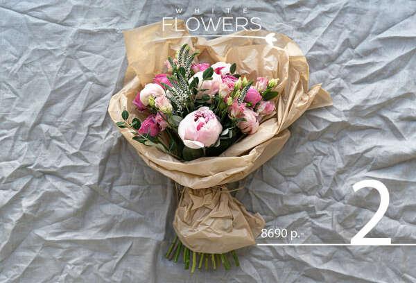 Цветы от WHITE FLOWERS BAR