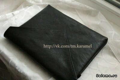 Кожаный клатч - конверт