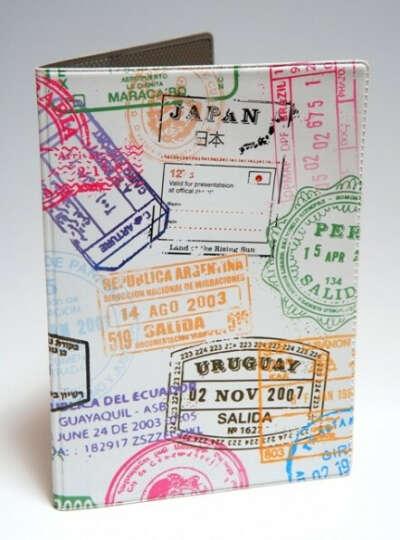 Прикольная обложка для загранично паспорта
