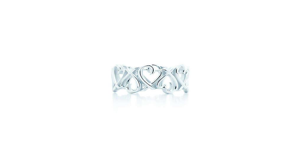 Tiffany & Co. -  Paloma Picasso®:Кольцо Loving Heart