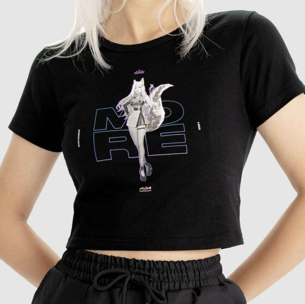 Ahri Crop Tree / Укороченная футболка с Ари
