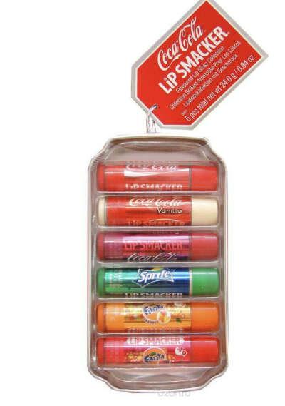 Набор бальзамов для губ Lip Smacker 6 шт