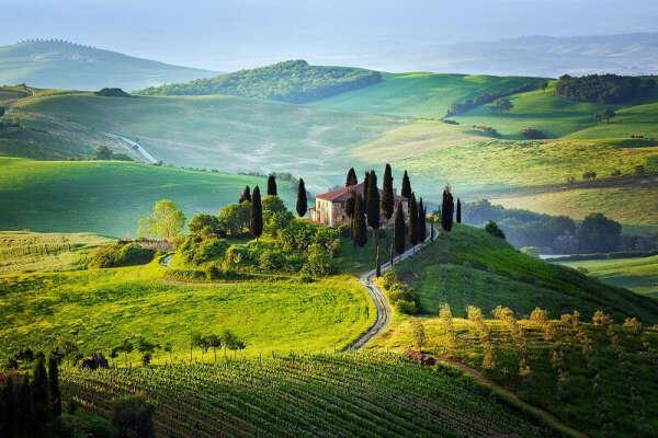 Тоскана. Италия.