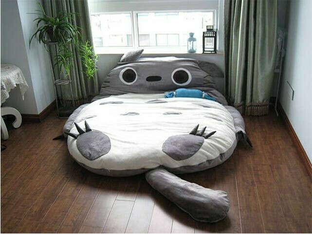 Huge Cute  Totoro  bed