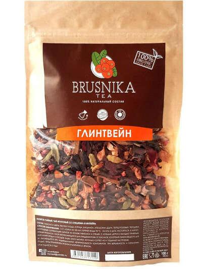 """Чай фруктовый со специями """"ГЛИНТВЕЙН"""", BRUSNIKATEA"""