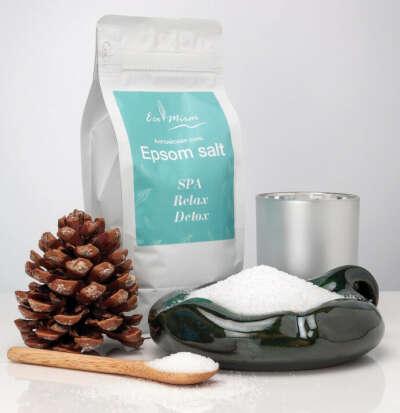 Английская соль для ванны любая