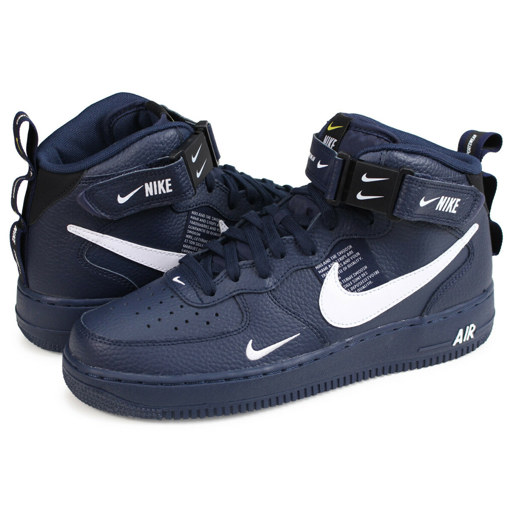 """NIKE AIR FORCE 1 MID'07 LV8 """"NAVY"""""""