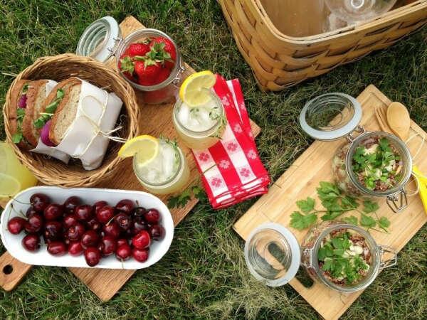 Пикник с друзьями