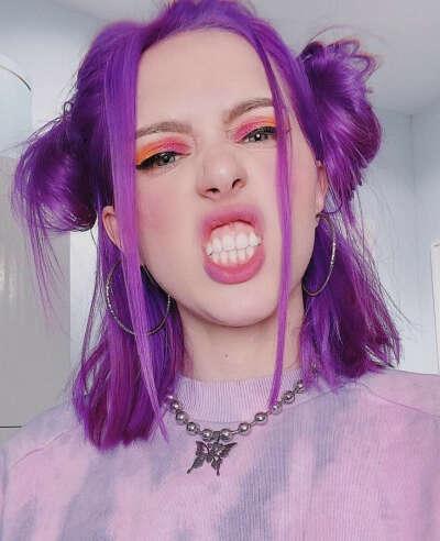 покрасить волосы в ёбнутый цвет