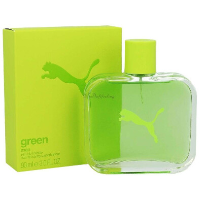 Puma green men