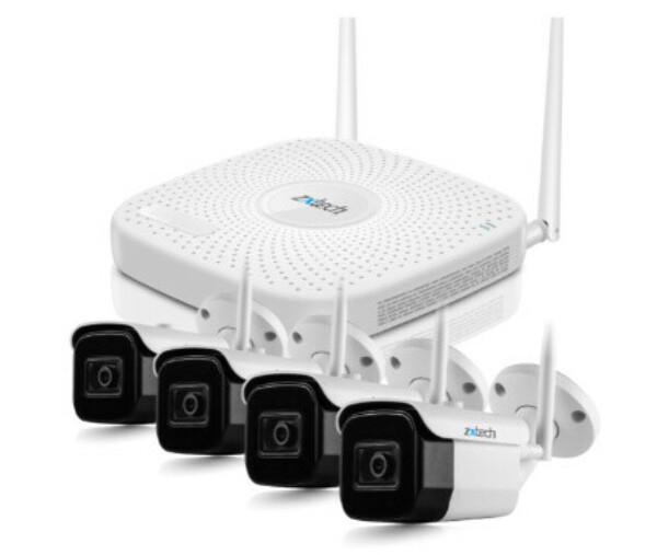 Best Wireless CCTV System for Home with max 4 Wireless CCTV Cameras