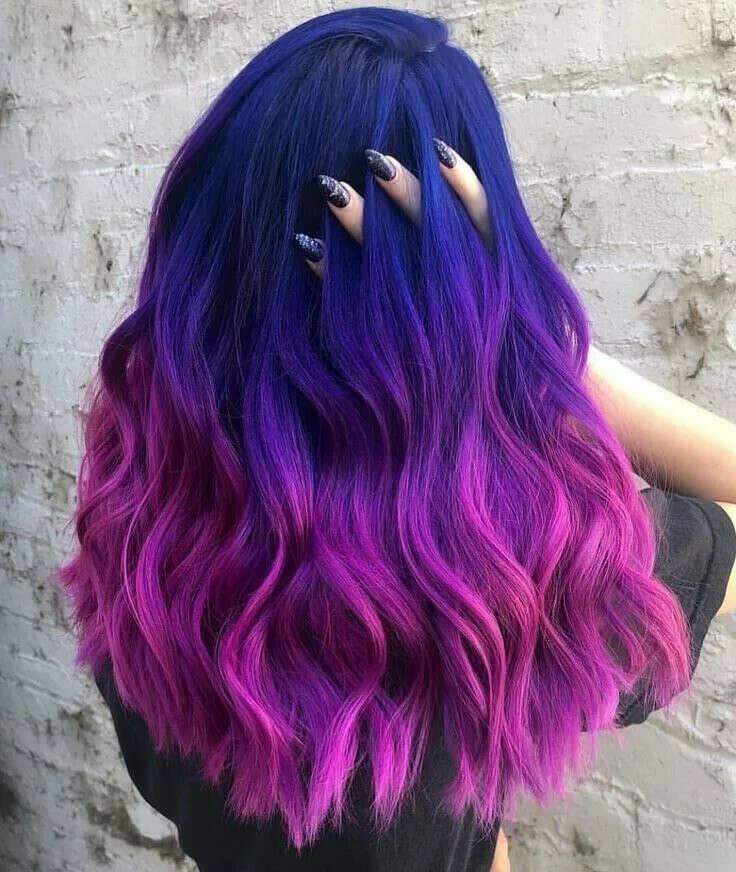 Перекрасить волосы в яркий цвет