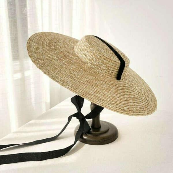 Большая соломенная шляпа