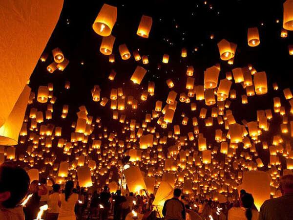 Хочу запустить в небо летающий фонарик!