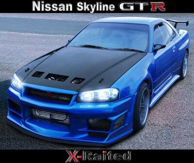 Хочу спортивную машину Nissan-skyline-gt-r-r34♥