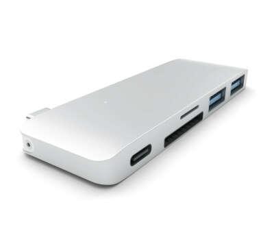 хаб Satechi Type-С USB 3.0 silver