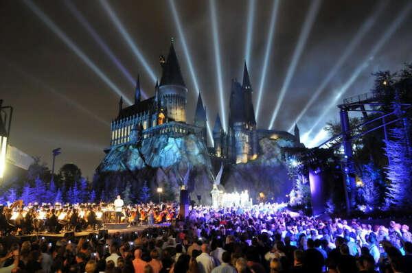 Побывать в парке Harry Potter в Орландо, США