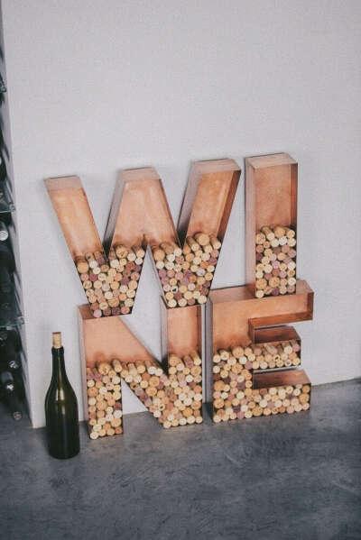 Винная серия > Комплект винных букв WINE для пробок купить в интернет-магазине