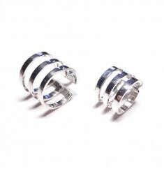 Тройные фаланговые кольца на две фаланги AMOREM
