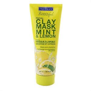 Freeman Feeling Beautiful Facial Clay Mask, Mint & Lemon