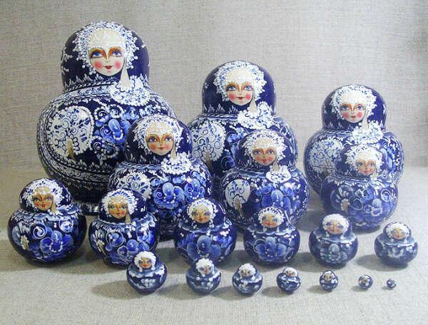 "Матрёшка ""Ярослава"", (20 мест), №9"