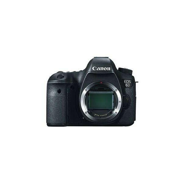 Фотоаппарат CANON EOS 6D Body c Wi-Fi и GPS