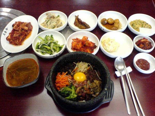 Сходить в корейский ресторан