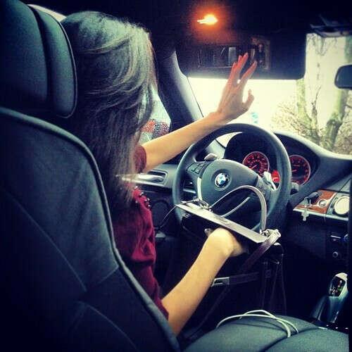 Научиться водить машину+получить права