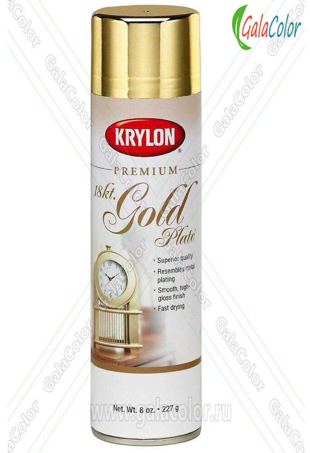Krylon Premium Mirrored Metalic Gold