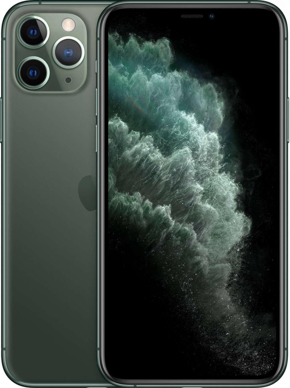 iPhone 11 pro темно-зеленый