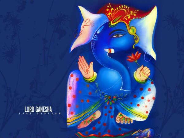 I want to draw Ganesha