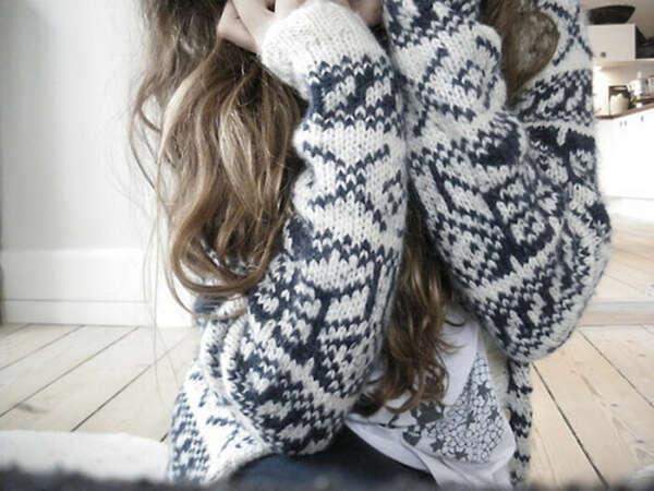 Хочу красивый свитер